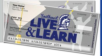 Green Bay Southwest Academic Side Tear Personalized Checks
