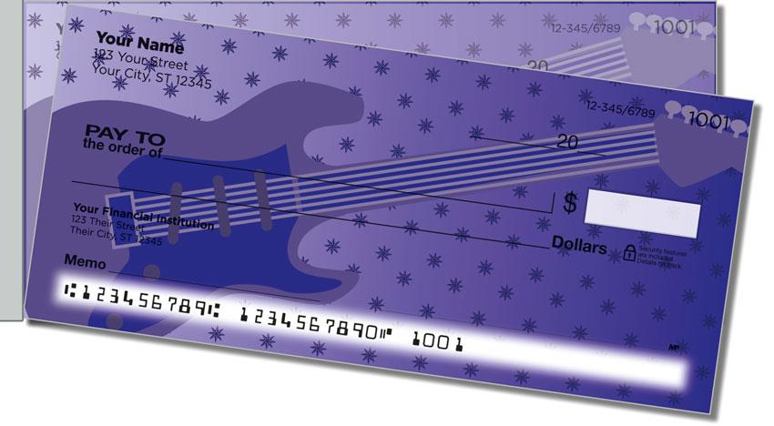 Guitar Side Tear Personal Checks