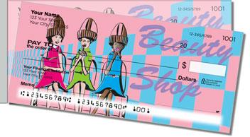Beauty Shop Side Tear Design Checks