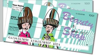 Beauty Shop Side Tear Personalized Checks
