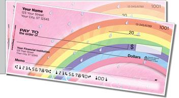 Rainbow Side Tear Theme Checks