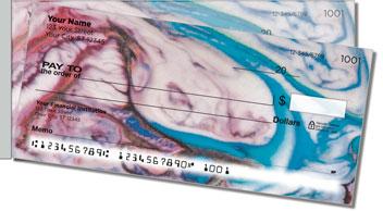 Science Swirl Side Tear Personalized Checks