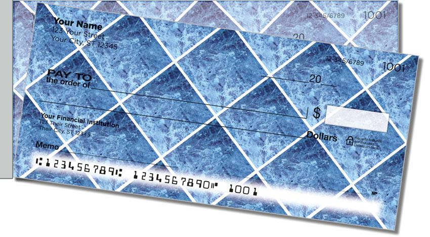 Marble Tile Side Tear Personal Checks