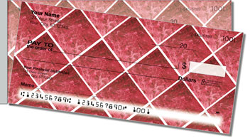 Marble Tile Side Tear Personalized Checks