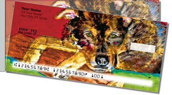 Dog & Cat Side Tear Personalized Checks