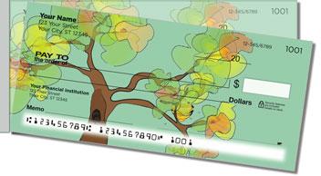Honey Tree Side Tear Personalized Checks