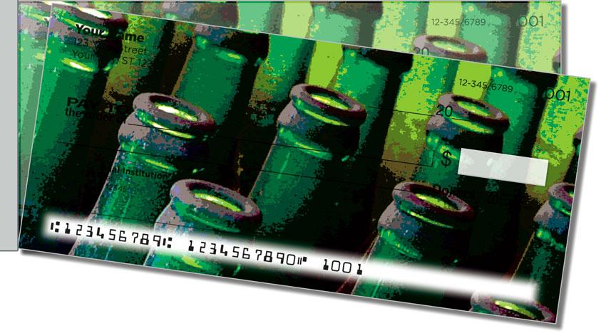 Soda Bottle Side Tear Personal Checks