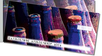 Soda Bottle Side Tear Design Checks