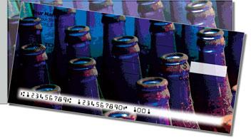 Soda Bottle Side Tear Theme Checks
