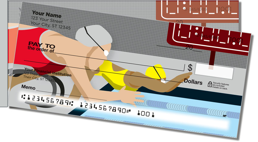 Swimming Side Tear Personal Checks