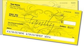 Faithful Foundations Side Tear Personalized Checks