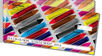 Cute Crayon Side Tear Theme Checks