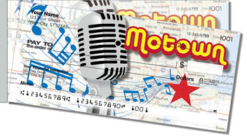 Motown Side Tear Personalized Checks