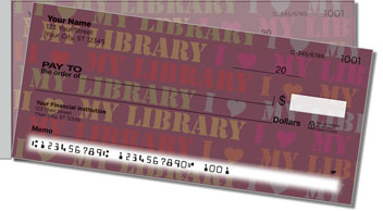 Library Side Tear Personalized Checks