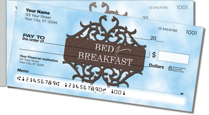 Bed & Breakfast Side Tear Personal Checks