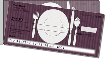 Catering Side Tear Personalized Checks