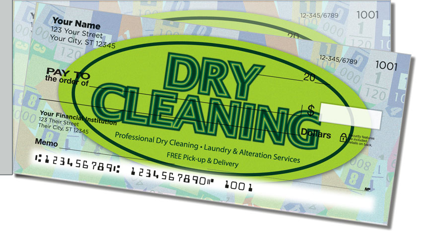 Dry Cleaning Side Tear Personal Checks
