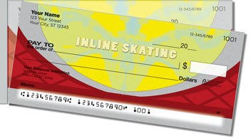 Inline Skating Side Tear Design Checks