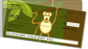 Cheeky Monkey Side Tear Design Checks