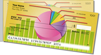 Business Chart Side Tear Personalized Checks