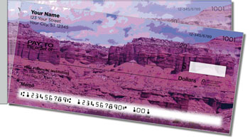 Eastern Utah Side Tear Personalized Checks