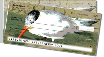 Water Fowl Side Tear Personalized Checks