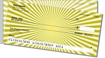 Starburst Side Tear Personalized Checks