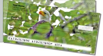 Nesting Eagle Side Tear Personalized Checks