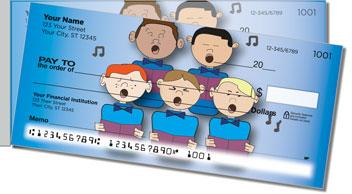 Kid Choir Side Tear Design Checks