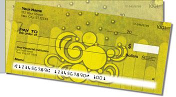 Bizarre Bubble Side Tear Personalized Checks