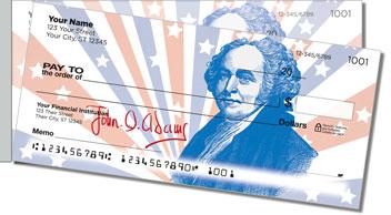 Founding Father Side Tear Design Checks