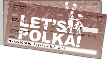Polka Music Side Tear Theme Checks