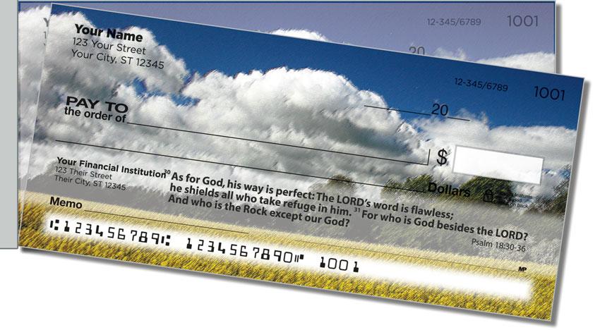 Psalm 18 Side Tear Personal Checks
