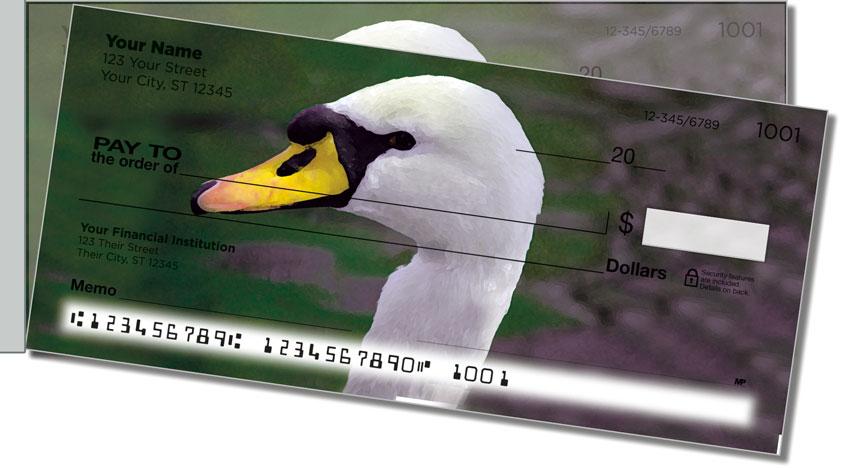 Swan Song Side Tear Personal Checks