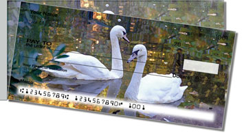 Swan Song Side Tear Design Checks