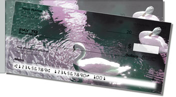 Swan Song Side Tear Personalized Checks