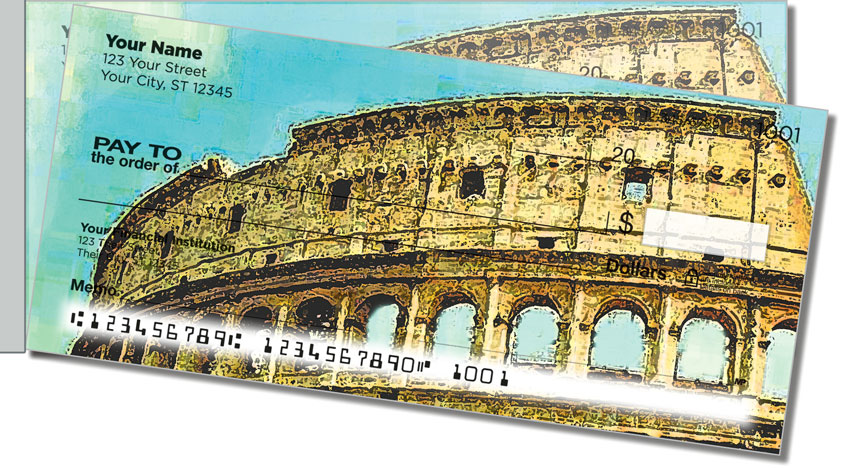 Italia Side Tear Personal Checks