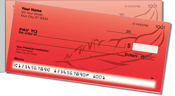 Feather Side Tear Personalized Checks