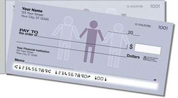 People Person Side Tear Personalized Checks