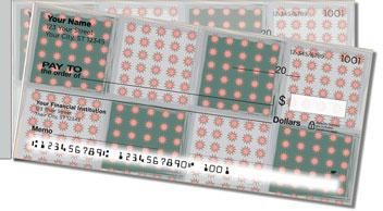 Pretty Pixel Side Tear Personalized Checks