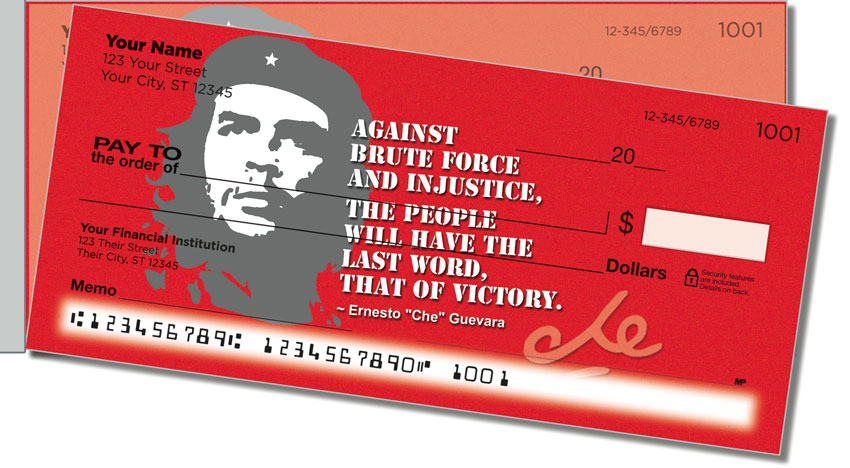 Che Guevara Side Tear Personal Checks