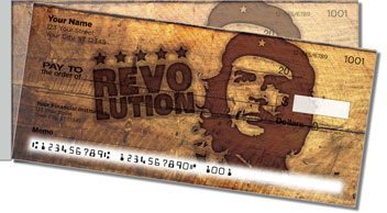Che Guevara Side Tear Personalized Checks
