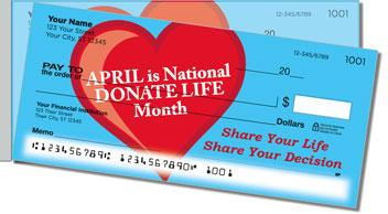 Organ Donation Side Tear Theme Checks