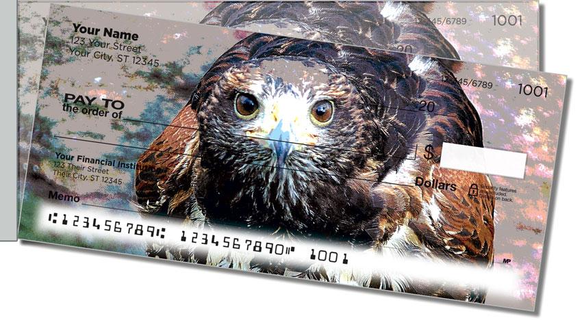Hawk Side Tear Personal Checks