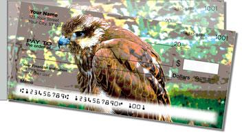 Hawk Side Tear Personalized Checks