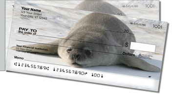 Animals of Antarctica Side Tear Design Checks