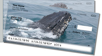 Animals of Antarctica Side Tear Personalized Checks