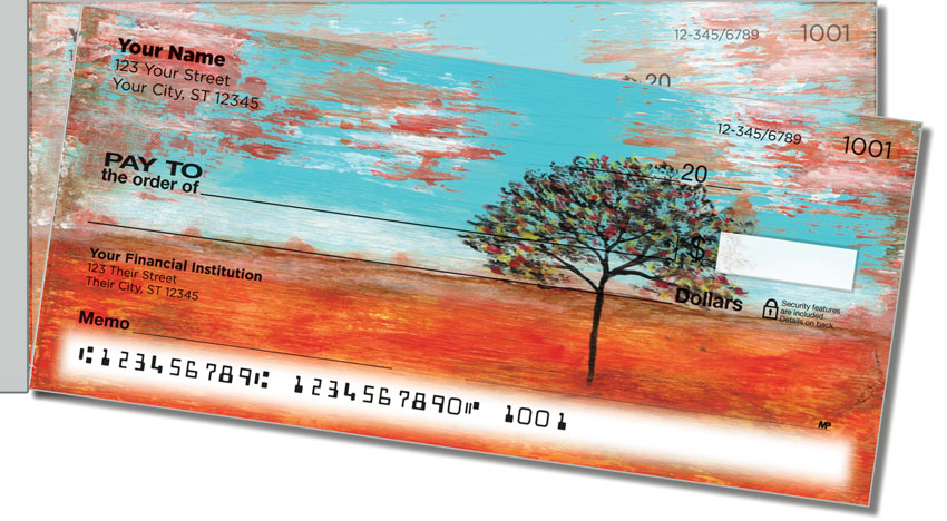 Remembering Trees Side Tear Personal Checks