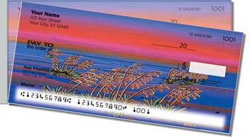 Pohl Sunset Side Tear Personalized Checks