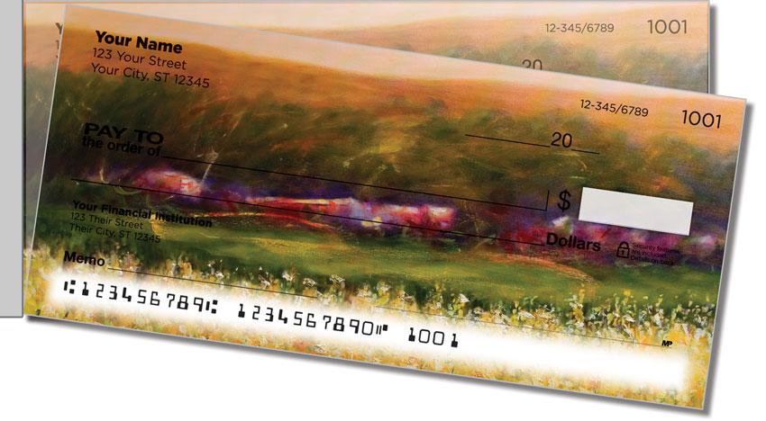 Grissom Landscape Side Tear Personal Checks